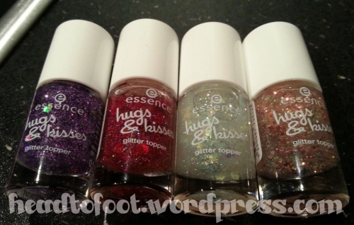 Essence Hugs & Kisses Glitter Toppers