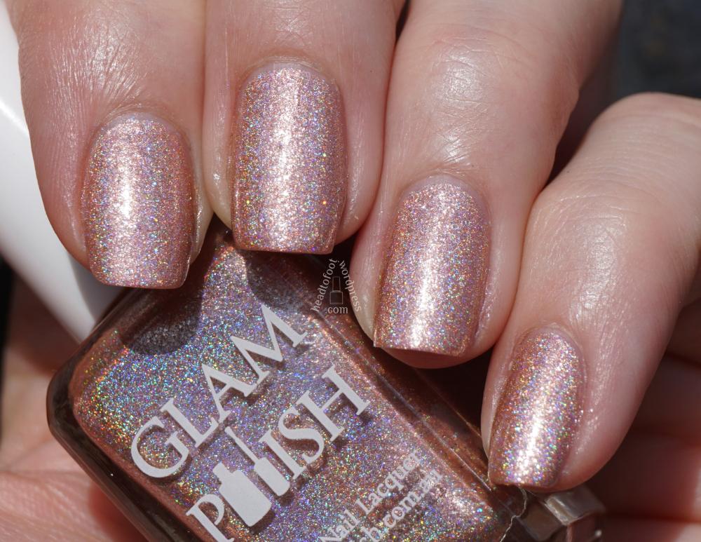 Glam Polish - Gentlemen Prefer Blondes // headtofoot.wordpress.com